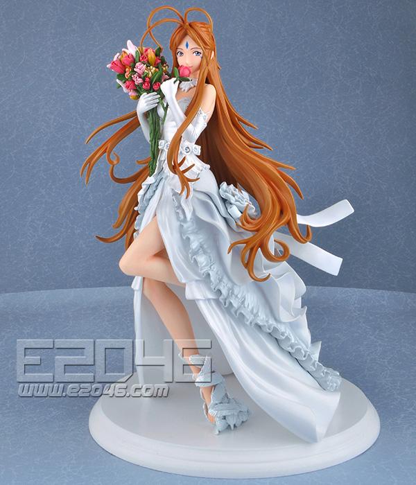 e2046com belldandy with wedding dress fashion fg9310