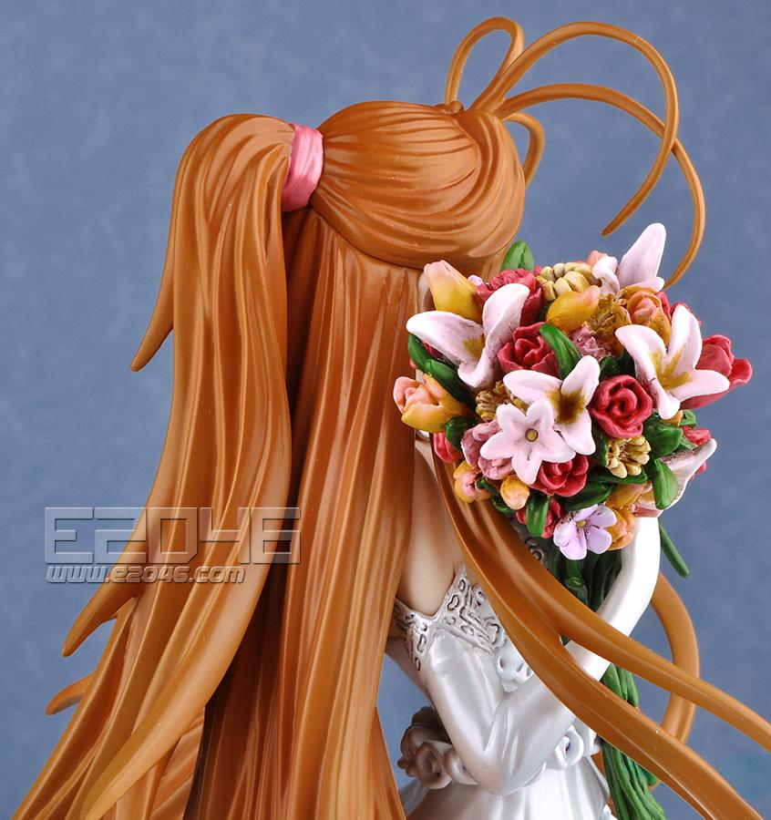 e2046com belldandy with wedding dress prepainted